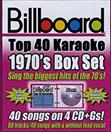 BILLBOARD TOP 40 KARAOKE 1970S BOX SET (4CDS)